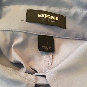 Express Tops - Express Stretch Button Down Shirt - Size 12